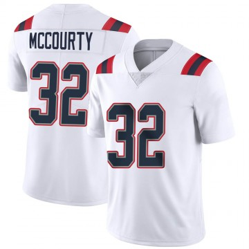 Youth Nike New England Patriots Devin McCourty White Vapor Untouchable Jersey - Limited