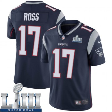 Youth Nike New England Patriots Devin Ross Navy Team Color Super Bowl LIII Vapor Untouchable Jersey - Limited