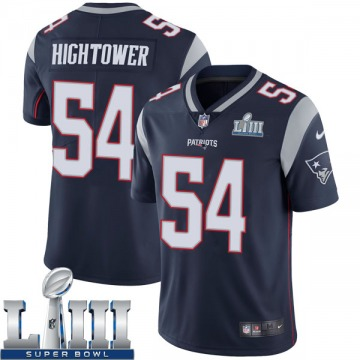 Youth Nike New England Patriots Dont'a Hightower Navy Team Color Super Bowl LIII Vapor Untouchable Jersey - Limited