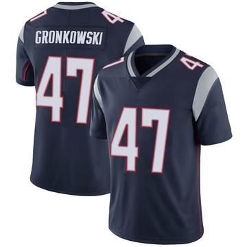 Youth Nike New England Patriots Glenn Gronkowski Navy 100th Vapor Jersey - Limited