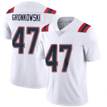 Youth Nike New England Patriots Glenn Gronkowski White Vapor Untouchable Jersey - Limited