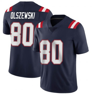 Youth Nike New England Patriots Gunner Olszewski Navy Team Color Vapor Untouchable Jersey - Limited