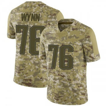 Youth Nike New England Patriots Isaiah Wynn Camo 2018 Salute to Service Jersey - Limited