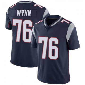Youth Nike New England Patriots Isaiah Wynn Navy 100th Vapor Jersey - Limited