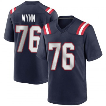 Youth Nike New England Patriots Isaiah Wynn Navy Blue Team Color Jersey - Game