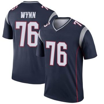 Youth Nike New England Patriots Isaiah Wynn Navy Jersey - Legend
