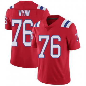 Youth Nike New England Patriots Isaiah Wynn Red Vapor Untouchable Alternate Jersey - Limited
