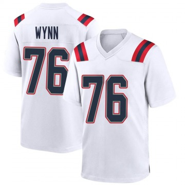 Youth Nike New England Patriots Isaiah Wynn White Jersey - Game
