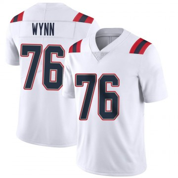 Youth Nike New England Patriots Isaiah Wynn White Vapor Untouchable Jersey - Limited