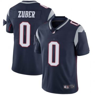 Youth Nike New England Patriots Isaiah Zuber Navy Team Color Vapor Untouchable Jersey - Limited