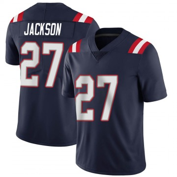 Youth Nike New England Patriots J.C. Jackson Navy Team Color Vapor Untouchable Jersey - Limited