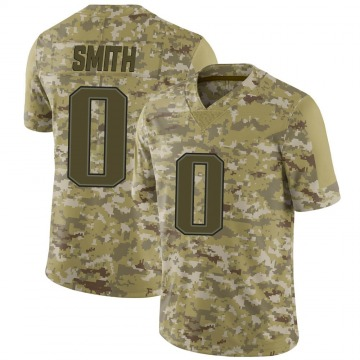 Youth Nike New England Patriots J'Mar Smith Camo 2018 Salute to Service Jersey - Limited