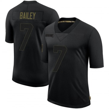 Youth Nike New England Patriots Jake Bailey Black 2020 Salute To Service Jersey - Limited
