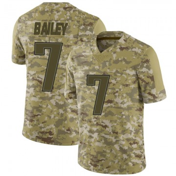 Youth Nike New England Patriots Jake Bailey Camo 2018 Salute to Service Jersey - Limited