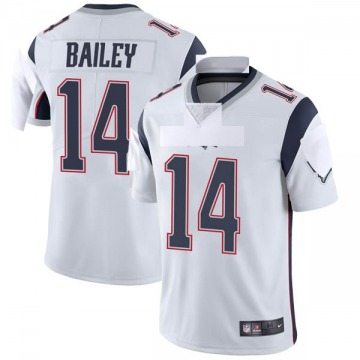 5a114aa6e2a Youth Nike New England Patriots Jake Bailey White Vapor Untouchable Jersey  - Limited