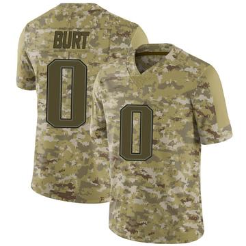 Youth Nike New England Patriots Jake Burt Camo 2018 Salute to Service Jersey - Limited