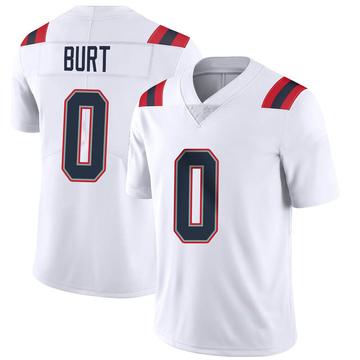 Youth Nike New England Patriots Jake Burt White Vapor Untouchable Jersey - Limited