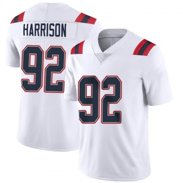Youth Nike New England Patriots James Harrison White Vapor Untouchable Jersey - Limited