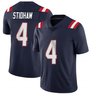 Youth Nike New England Patriots Jarrett Stidham Navy Team Color Vapor Untouchable Jersey - Limited