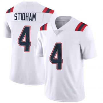 Youth Nike New England Patriots Jarrett Stidham White Vapor Untouchable Jersey - Limited