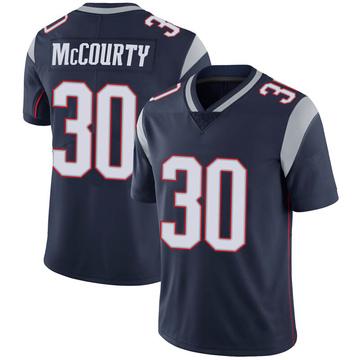 Youth Nike New England Patriots Jason McCourty Navy 100th Vapor Jersey - Limited