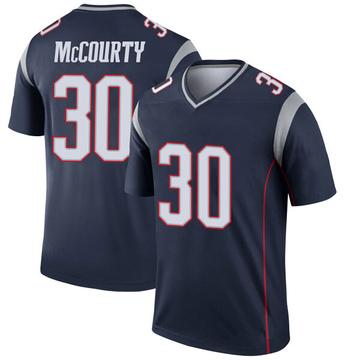 Youth Nike New England Patriots Jason McCourty Navy Jersey - Legend