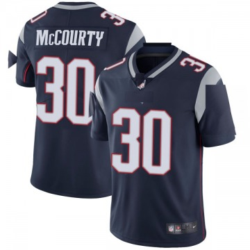 Youth Nike New England Patriots Jason McCourty Navy Team Color Vapor Untouchable Jersey - Limited