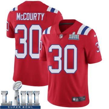 Youth Nike New England Patriots Jason McCourty Red Super Bowl LIII Vapor Untouchable Alternate Jersey - Limited