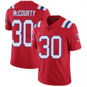 Youth Nike New England Patriots Jason McCourty Red Vapor Untouchable Alternate Jersey - Limited