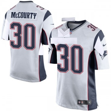 Youth Nike New England Patriots Jason McCourty White Jersey - Game