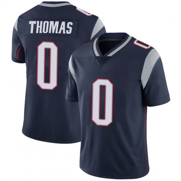 Youth Nike New England Patriots Jeff Thomas Navy 100th Vapor Jersey - Limited