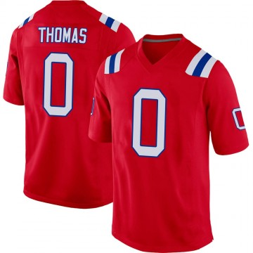 Youth Nike New England Patriots Jeff Thomas Red Alternate Jersey - Game