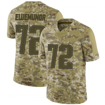 Youth Nike New England Patriots Jermaine Eluemunor Camo 2018 Salute to Service Jersey - Limited