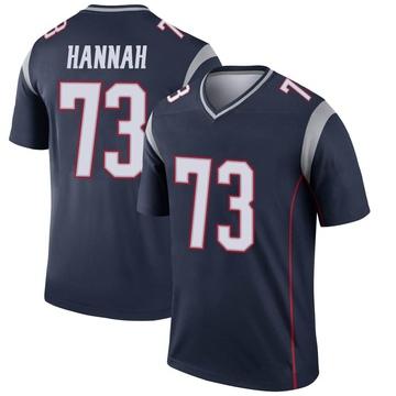 Youth Nike New England Patriots John Hannah Navy Jersey - Legend