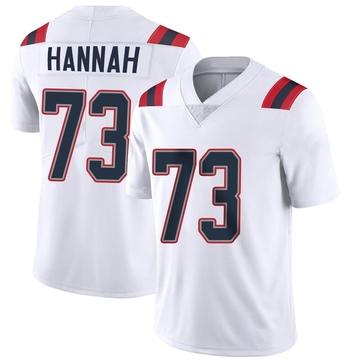 Youth Nike New England Patriots John Hannah White Vapor Untouchable Jersey - Limited