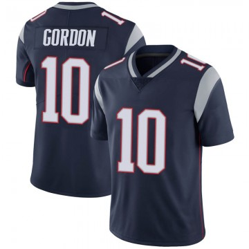Youth Nike New England Patriots Josh Gordon Navy 100th Vapor Jersey - Limited
