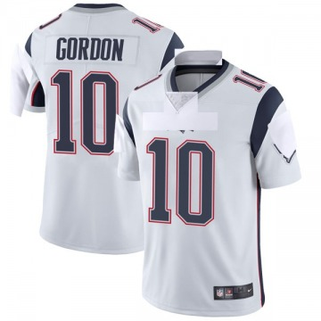 Youth Nike New England Patriots Josh Gordon White Vapor Untouchable Jersey - Limited