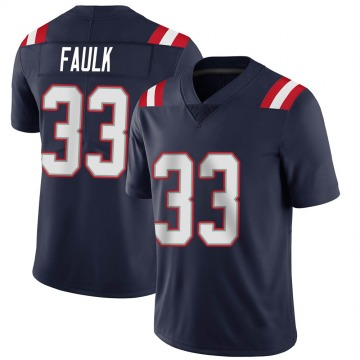 Youth Nike New England Patriots Kevin Faulk Navy Team Color Vapor Untouchable Jersey - Limited
