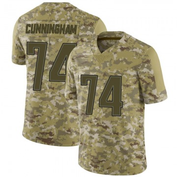 Youth Nike New England Patriots Korey Cunningham Camo 2018 Salute to Service Jersey - Limited