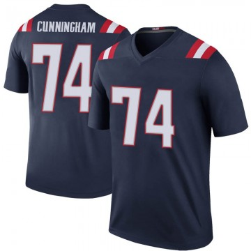 Youth Nike New England Patriots Korey Cunningham Navy Color Rush Jersey - Legend