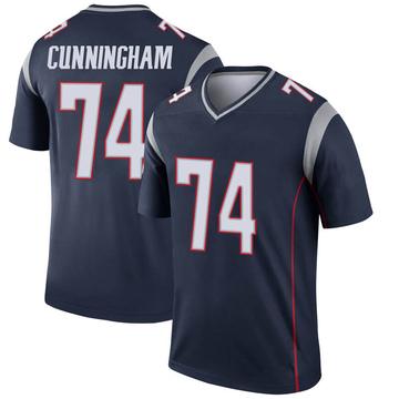 Youth Nike New England Patriots Korey Cunningham Navy Jersey - Legend