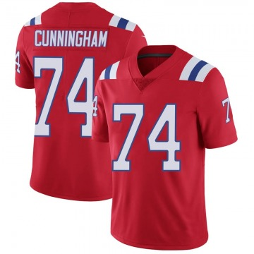 Youth Nike New England Patriots Korey Cunningham Red Vapor Untouchable Alternate Jersey - Limited