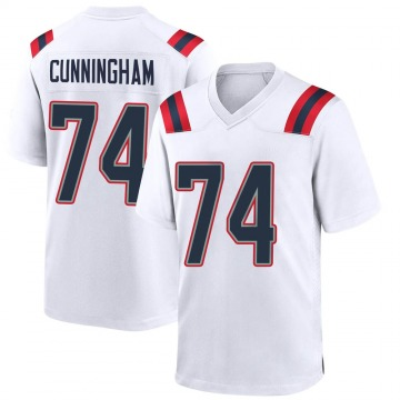Youth Nike New England Patriots Korey Cunningham White Jersey - Game