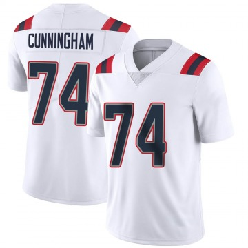 Youth Nike New England Patriots Korey Cunningham White Vapor Untouchable Jersey - Limited