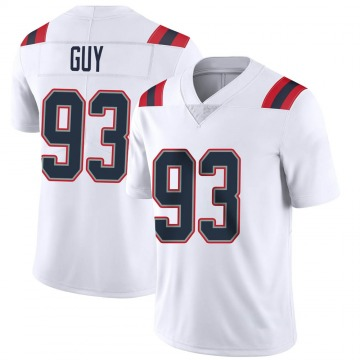 Youth Nike New England Patriots Lawrence Guy White Vapor Untouchable Jersey - Limited