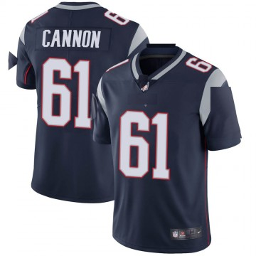 Youth Nike New England Patriots Marcus Cannon Navy Team Color Vapor Untouchable Jersey - Limited