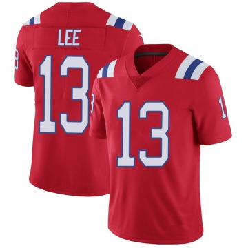 Youth Nike New England Patriots Marqise Lee Red Vapor Untouchable Alternate Jersey - Limited