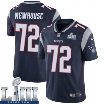 Youth Nike New England Patriots Marshall Newhouse Navy Team Color Super Bowl LIII Vapor Untouchable Jersey - Limited