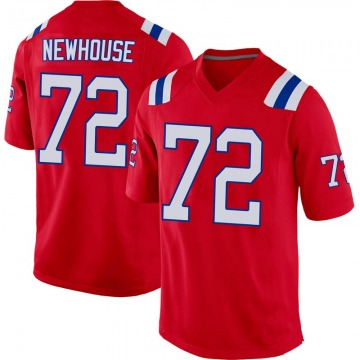 Youth Nike New England Patriots Marshall Newhouse Red Alternate Jersey - Game