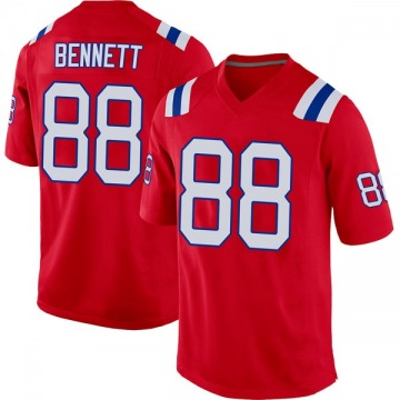 Youth Nike New England Patriots Martellus Bennett Red Alternate Jersey - Game